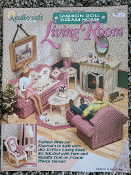 Fashion Doll Dream Home Living Room in Plastic Canvas #923719