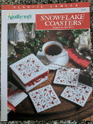 Needlecraft Shop Snowflake Coasters in Plastic Canvas #913321
